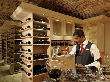 Une large selection de vins vous attend au Constance