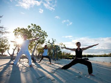 Yoga au Constance Le Prince Maurice situé à l'île Maurice