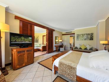 Junior Suite de l'hôtel Dinarobin Beachcomber