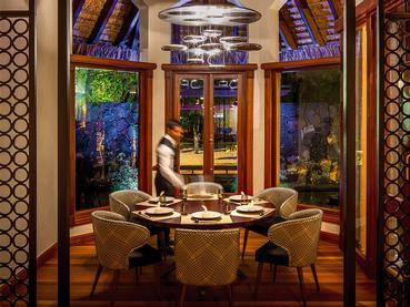 Le restaurant asiatique Umami de l'hôtel Dinarobin