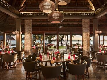Le restaurant Savana de l'hôtel Heritage Awali