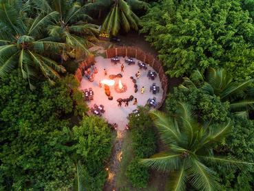 Vivez l'experience d'un dîner Boma à l'Heritage Awali