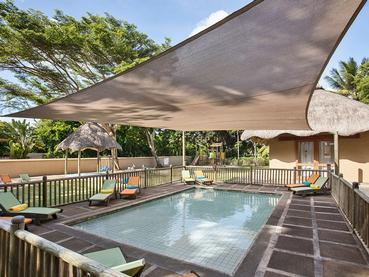 La piscine pour enfants de l'hôtel Heritage Awali