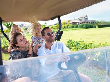 Balade en voiturette de golf au coeur du Domaine de Bel Ombre