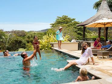Profitez des magnifiques piscines des villas de l'Heritage The Villas