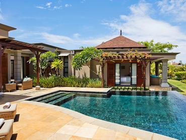 La superbe piscine d'une villa de l'hôtel Heritage The Villas