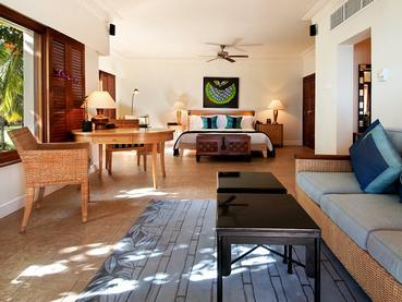 Beachfront Junior Suite de l'hôtel Hilton Mauritius
