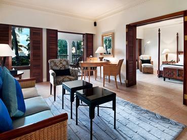 Deluxe Family Suite de l'Hilton Mauritius à Flic en Flac