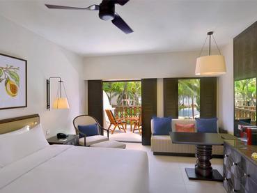 Grand Deluxe Room de l'Hilton Mauritius à Flic en Flac