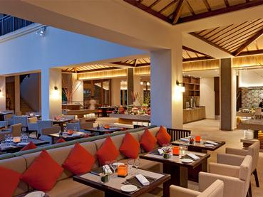 Le restaurant Pomme d'Amour de l'hôtel Hilton