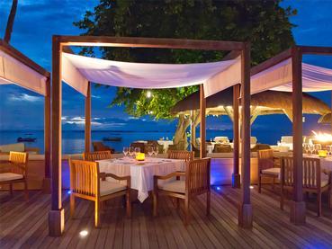 Le restaurant Les Coquillages de l'Hilton Mauritius