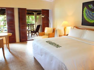 Deluxe Room de l'Hilton Mauritius à Flic en Flac