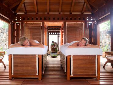 Profitez des somptueux soins du spa de l'Hilton