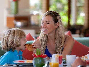 Profitez de moments privilégiés en famille à l'Hilton