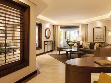 Ocean Suite du Royal Palm Hotel à proximité de Grand Baie