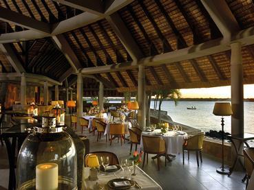 Restaurant La Goélette du Royal Palm Hotel à l'île Maurice