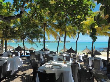 Le Bar La Plage du Royal Palm Hotel à Grand Baie