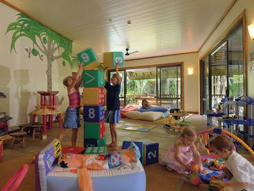 Coin enfants de l'hôtel Royal Palm à l'île Maurice