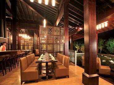 Le restaurant Noble House de l'Intercontinental Mauritius