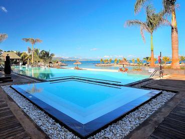 La superbe piscine de l'hôtel Intercontinental Resort