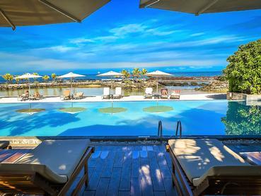 Profitez de la magnifique piscine de l'Intercontinental