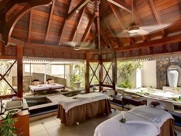 Le spa de l'hôtel 5 étoiles Heritage Le Telfair à l'île Maurice