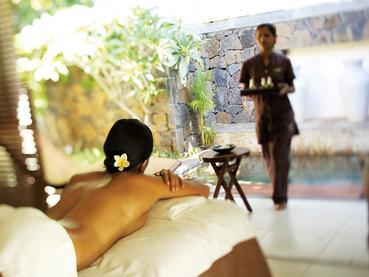 Le spa du Telfair vous propose des soins inspirés par des techniques ancestrales