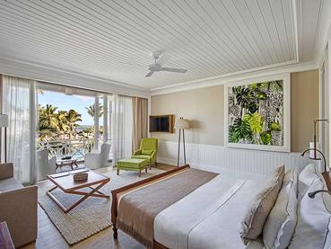 Deluxe Seaview Suite de l'hôtel Heritage Le Telfair