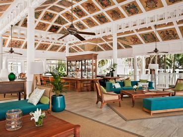 Le bar Cavendish de l'Heritage Le Telfair à l'île Maurice