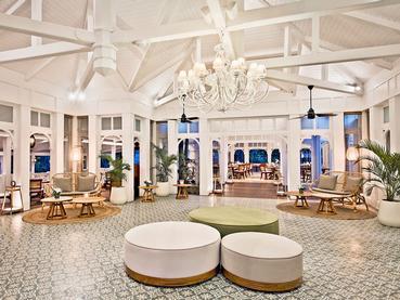 Le restaurant Anabella de l'hôtel Heritage Le Telfair