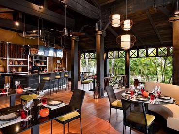 Délicieuse cuisine asiatique au restaurant Gin'ja de l'Heritage Le Telfair