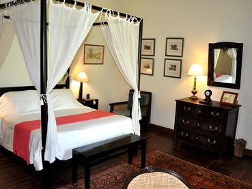 La chambre de La Demeure Saint Antoine à l'île Maurice