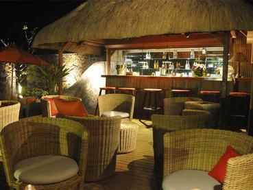 Le bar de La Maison d'Été à l'île Maurice