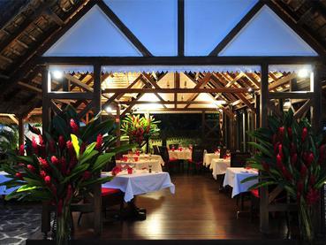 Restaurant de La Maison d'Été à l'île Maurice