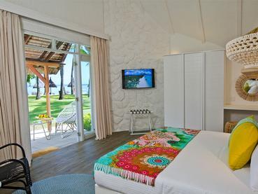Deluxe Beach Bungalow de l'hôtel La Pirogue