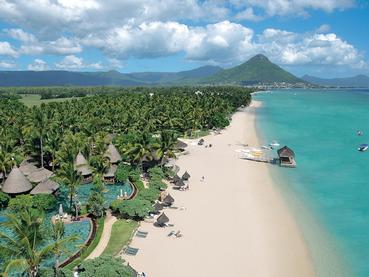 Vue de La Pirogue, l'une des meilleures adresses de l'île Maurice