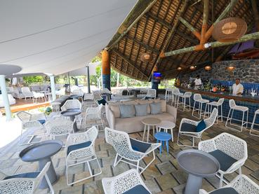 Le Medine Bar de l'hôtel La Pirogue à l'île Maurice