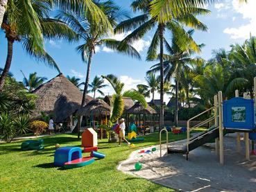 Le coin enfants de l'hôtel La Pirogue Golf & Spa Resort