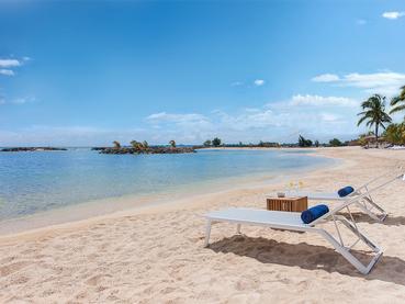 La superbe plage de l'hôtel Veranda Pointe aux Biches