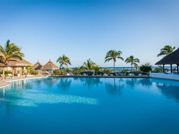 La piscine du Veranda Pointe aux Biches à l'Ile Maurice