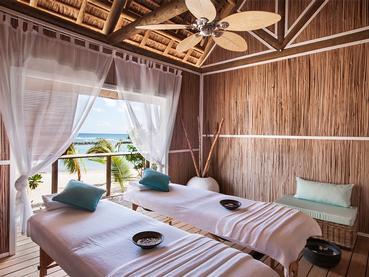 Le spa de l'hôtel 4 étoiles Veranda Pointe aux Biches