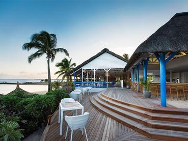 Le bar Foot Loose du Veranda à Grand Baie
