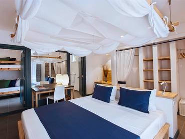 Family Room de l'hôtel Veranda Pointe aux Biches