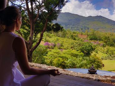 Méditez face à une vue magnifique