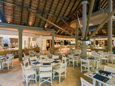 Le restaurant Le Frangipanier du Canonnier à l'île Maurice
