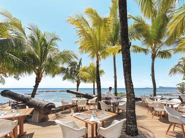 Splendide vue sur l'océan depuis le restaurant Le Navigator du Canonnier