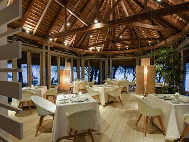 Le restaurant Le Navigator du Canonnier Beachcomber