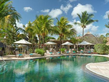 La piscine du Coin de Mire Attitude à l'île Maurice
