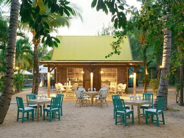 Le restaurant Kot Nou de l'hôtel Coin de Mire Attitude