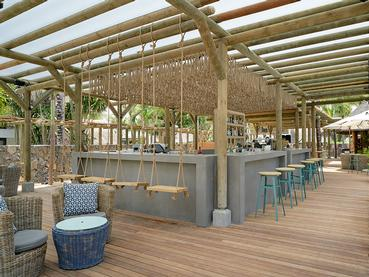 Le bar La Belle Vue du Coin de Mire à l'île Maurice